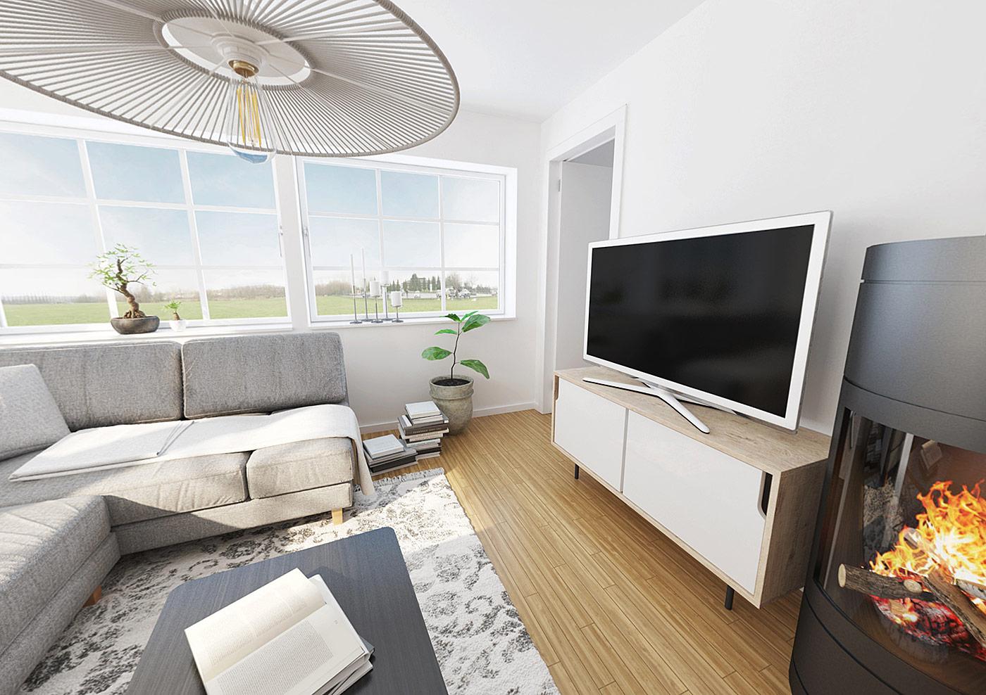 Stafettpinnen-vardagsrum